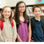small image of two girls and one boy in the SAC program
